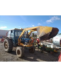 Tractor Ford 7610 con pala...